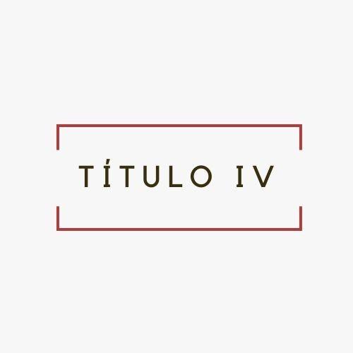 TÍTULO IV